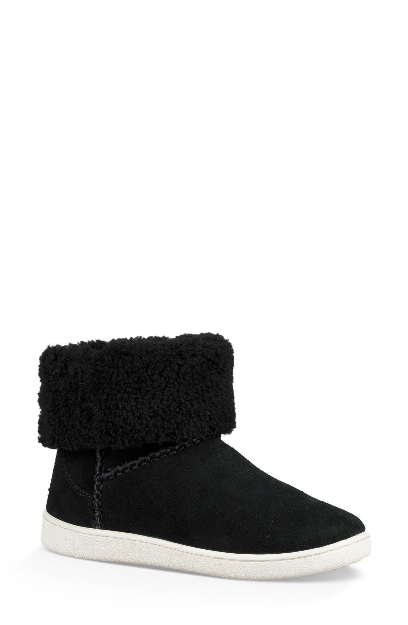 UGG® Mika Classic Genuine Shearling Sneaker (Women)