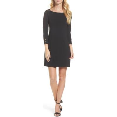 Lilly Pulitzer Sophie Upf 50+ Shift Dress, Black