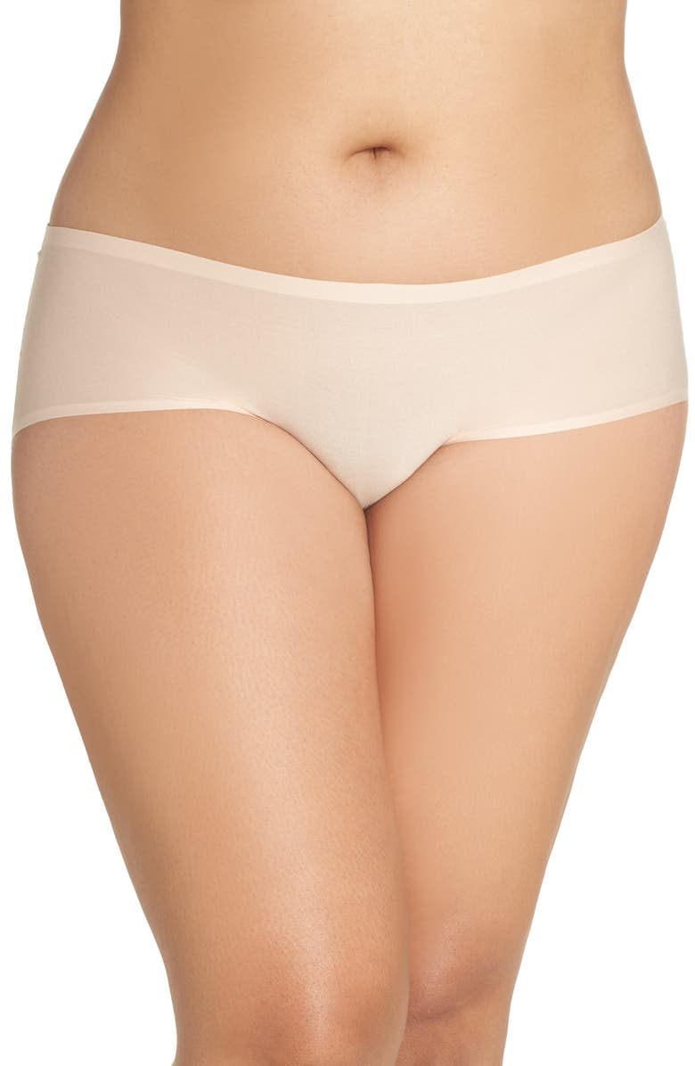 CHANTELLE LINGERIE Chantelle Intimates Hipster Briefs, Main, color, NUDE BLUSH