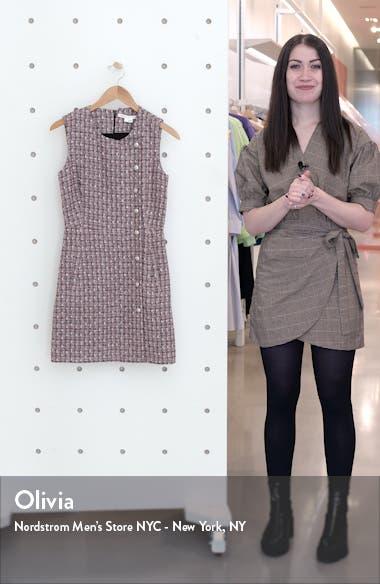 Cutler Tweed Minidress, sales video thumbnail