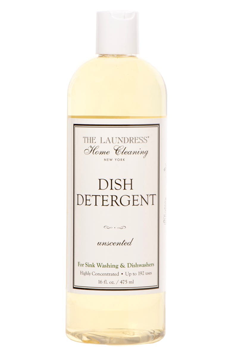 THE LAUNDRESS Dish Detergent, Main, color, YELLOW/CLEAR