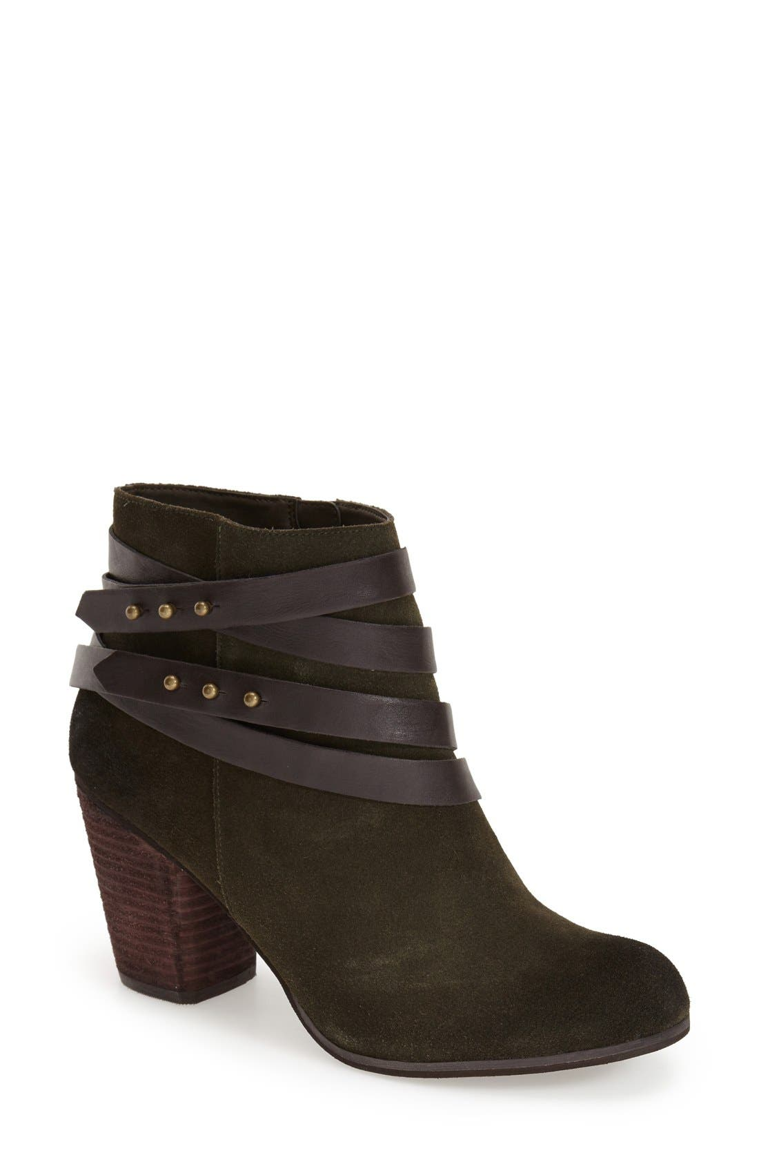 ,                             'Train' Wrap Belted Bootie,                             Main thumbnail 27, color,                             360
