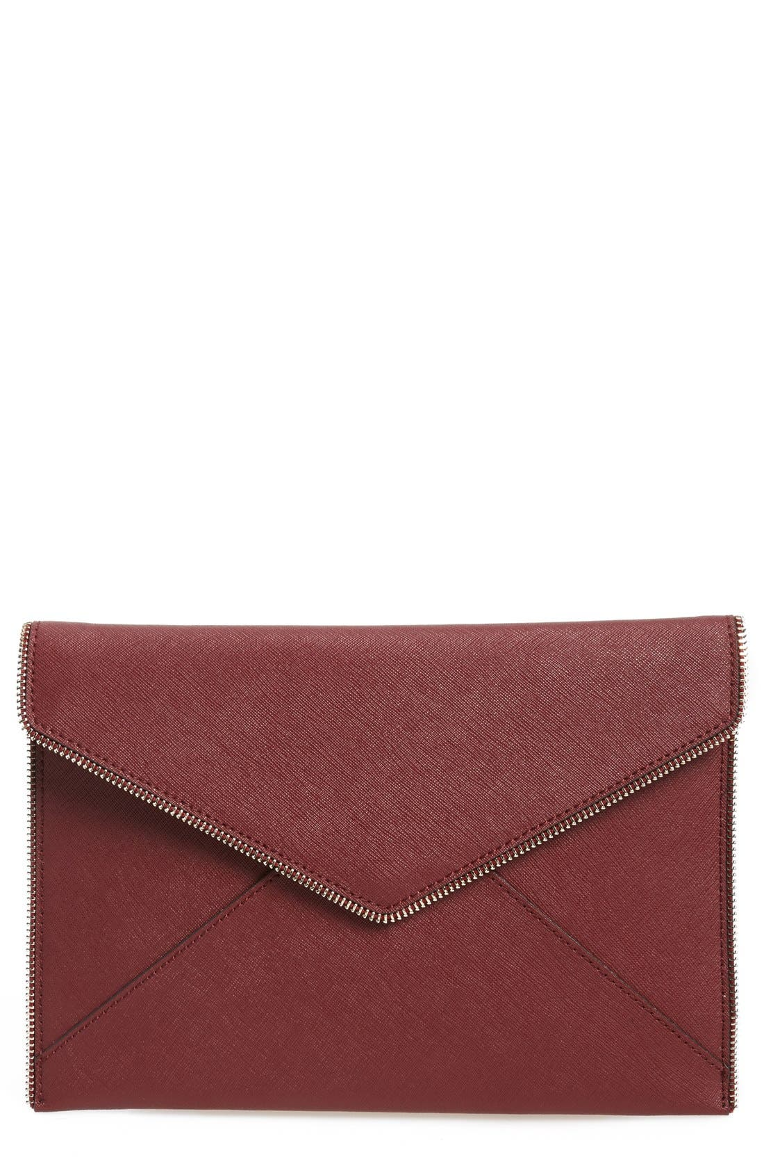,                             Leo Envelope Clutch,                             Main thumbnail 320, color,                             936