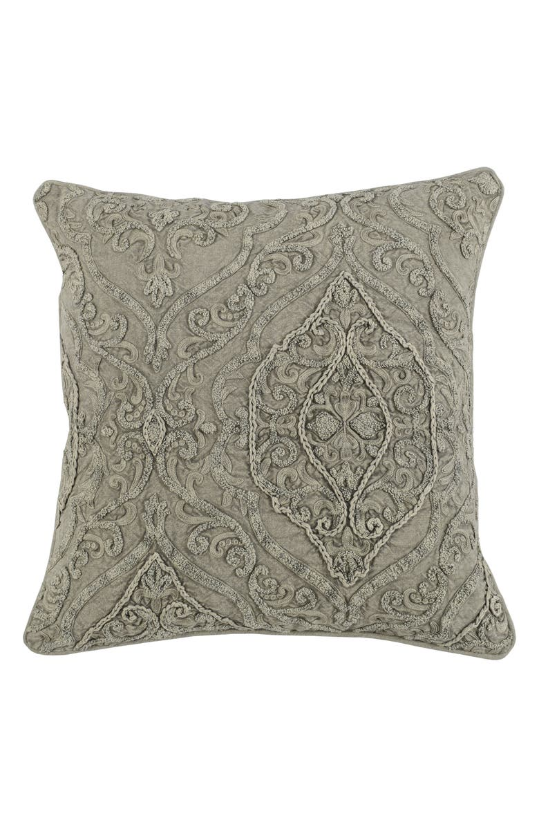 VILLA HOME COLLECTION Abilene Accent Pillow, Main, color, NATURAL