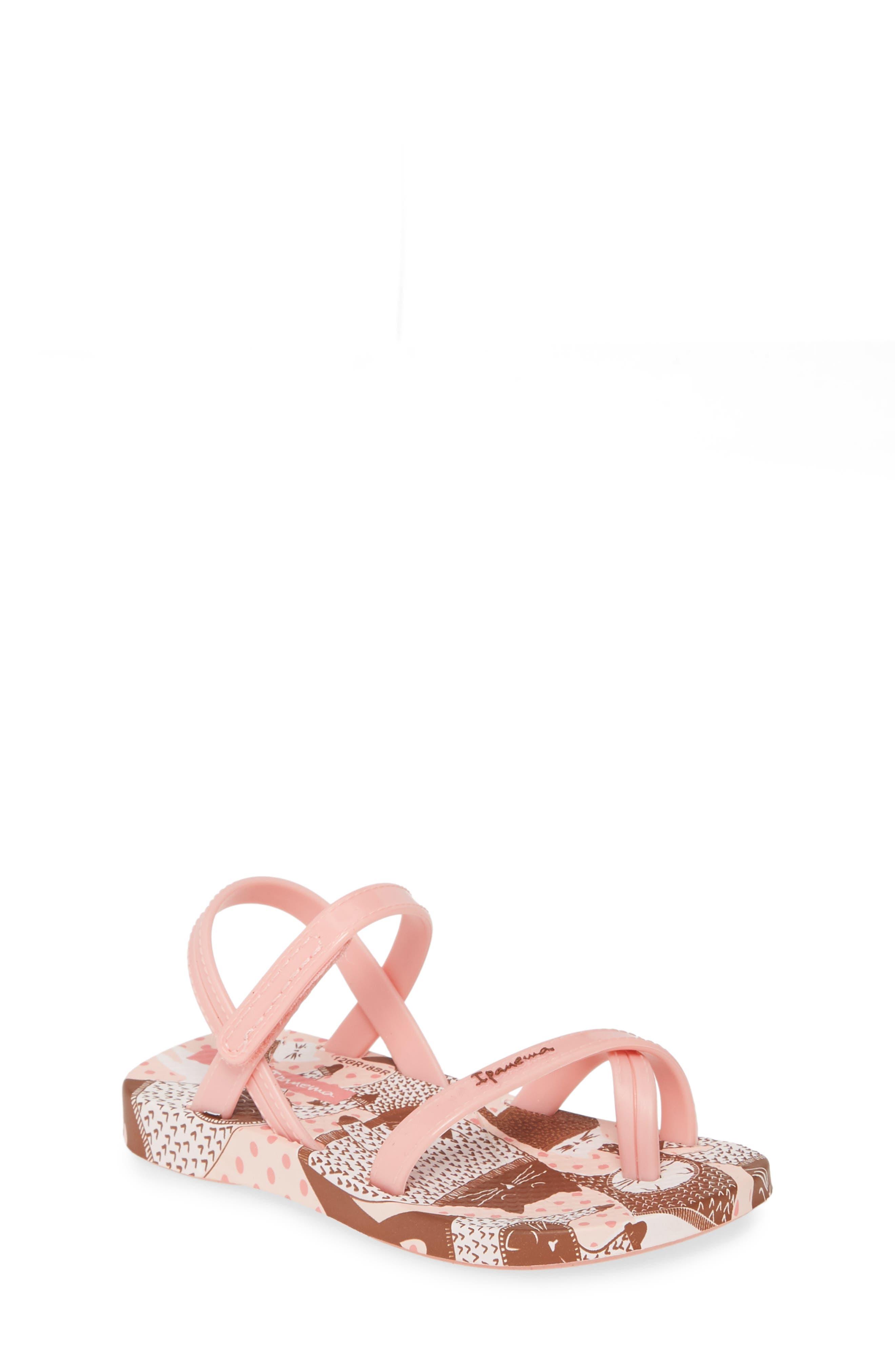 Toddler Girls Ipanema Suzi Print Sandal Size 5 M  Pink