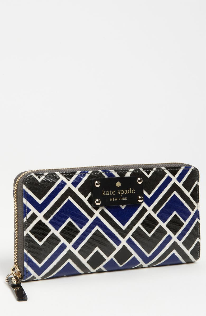 KATE SPADE NEW YORK 'flicker - lacey' wallet, Main, color, 400