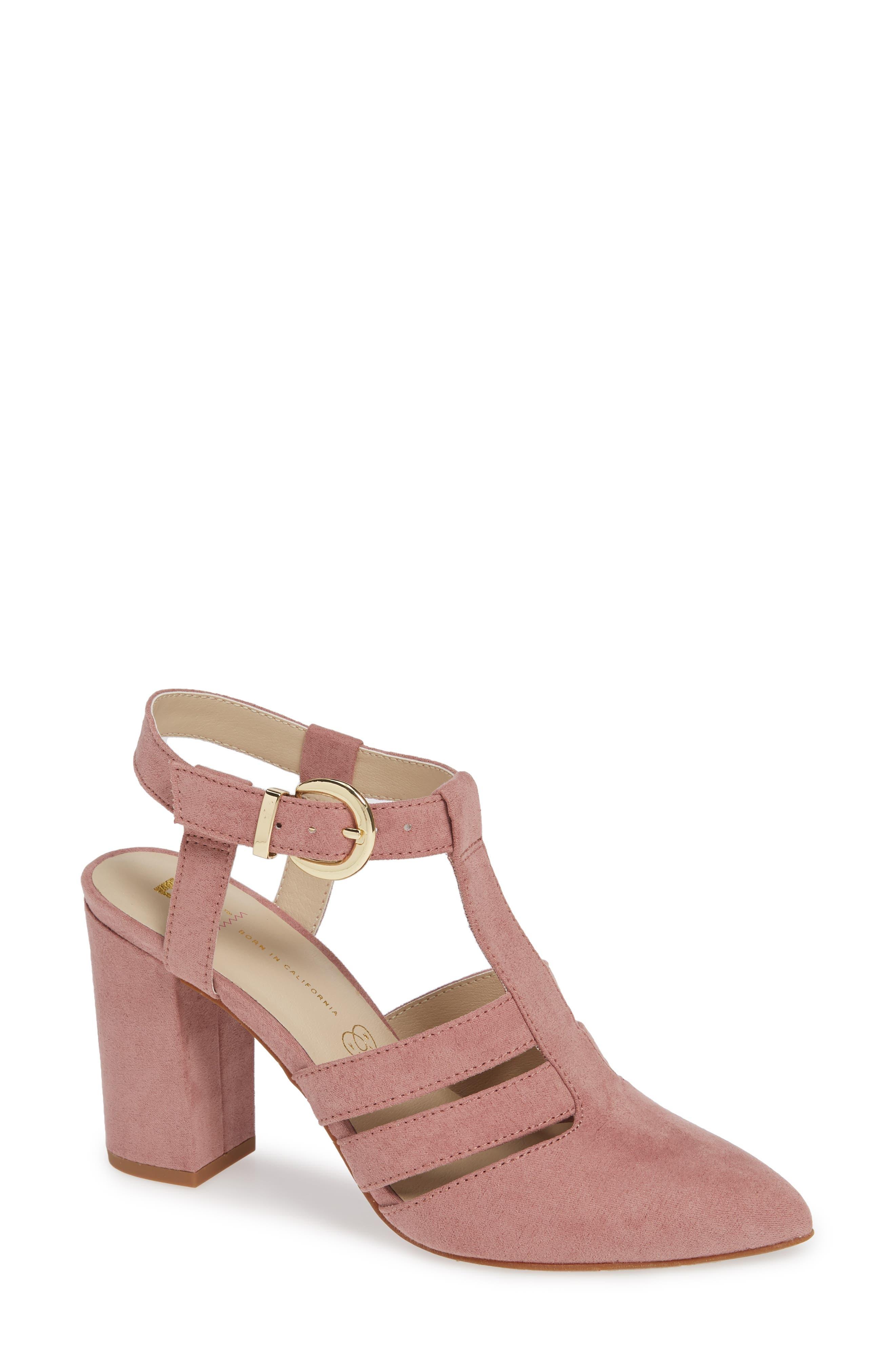 Bc Footwear Terrace Vegan Pump- Pink