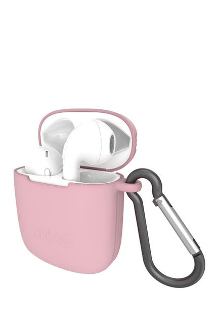 Image of Tzumi Soundmates 5.0 Wireless Earbuds & Recharging Case - White/Pink