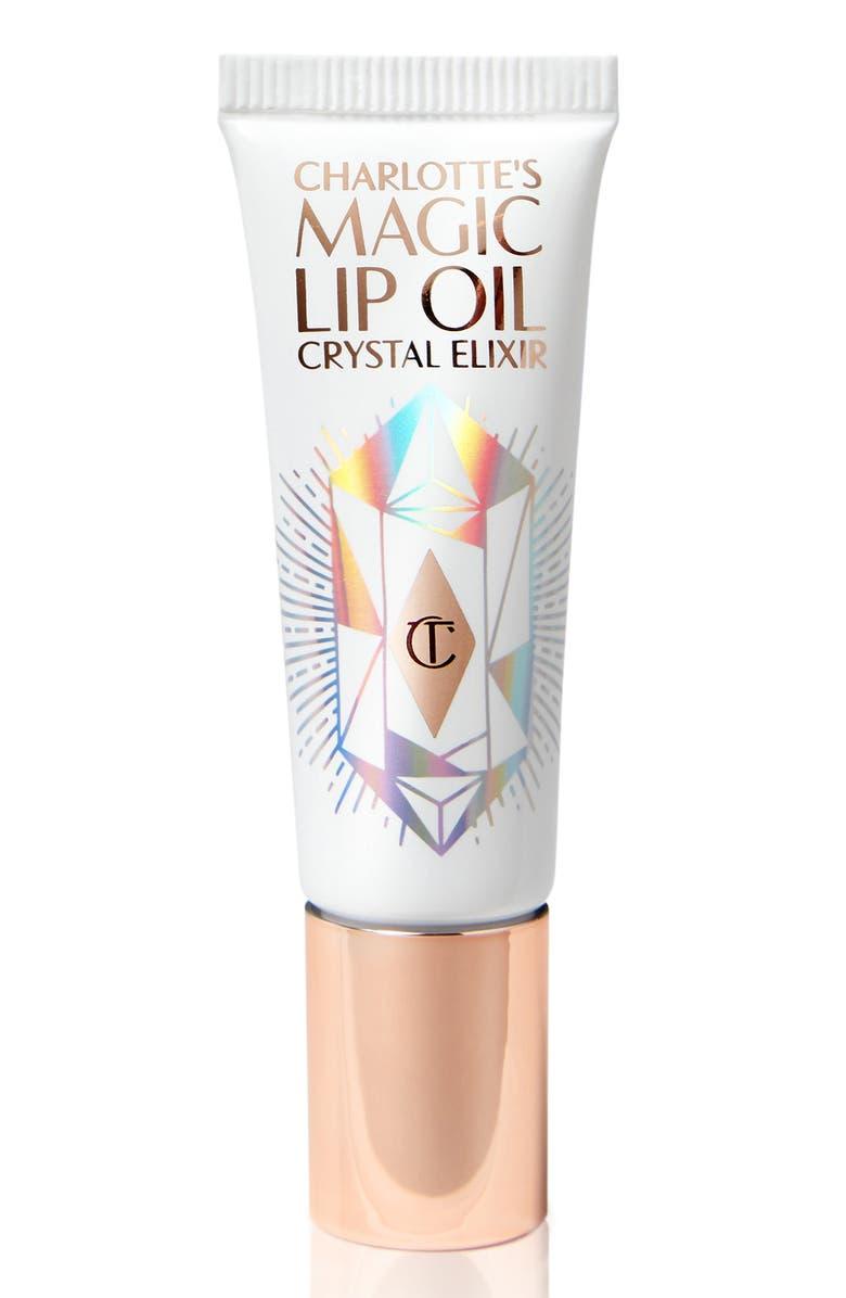 CHARLOTTE TILBURY Charlotte's Magic Lip Oil Crystal Elixir, Main, color, 000