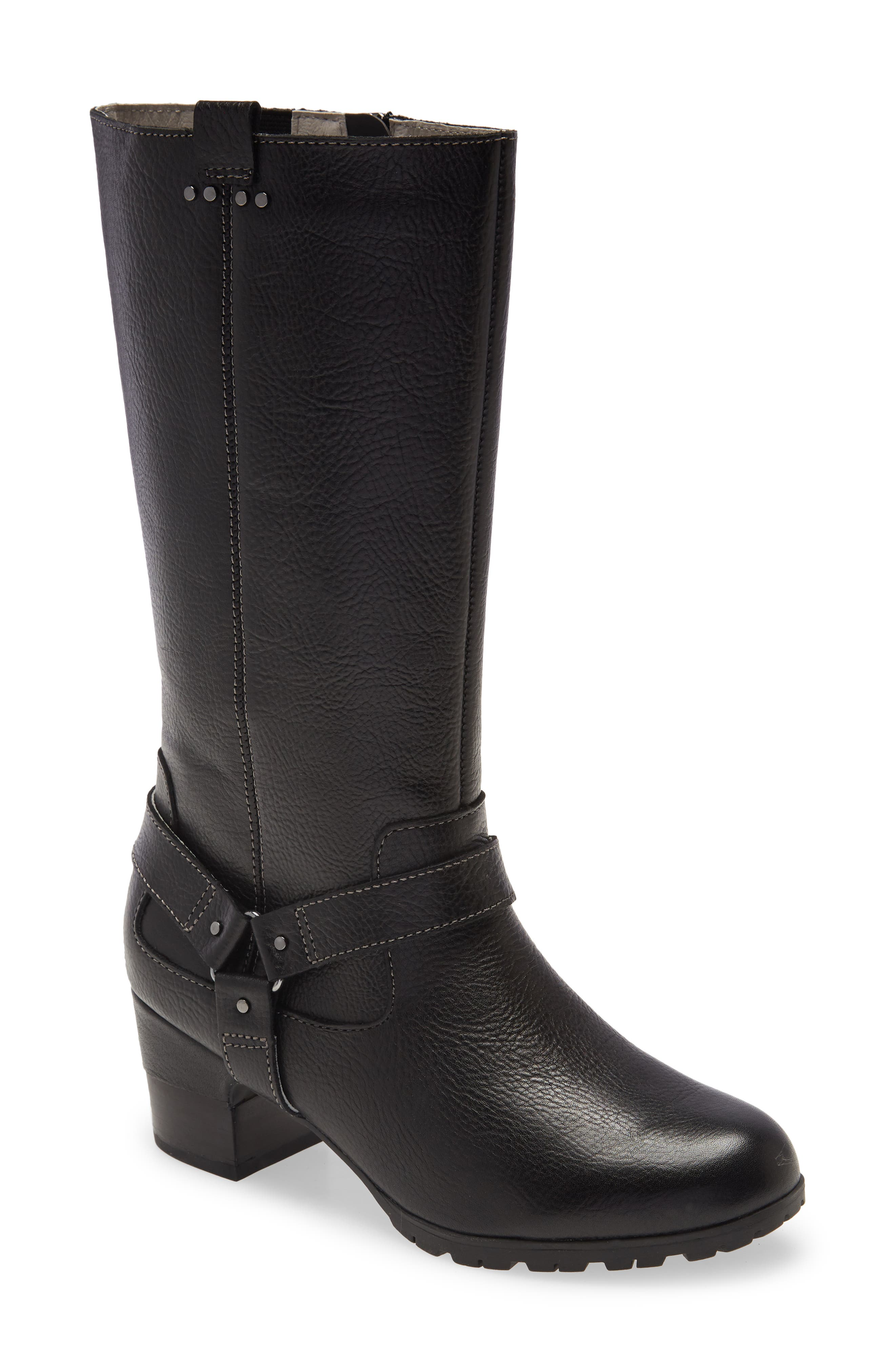 Autumn Water Resistant Leather Boot