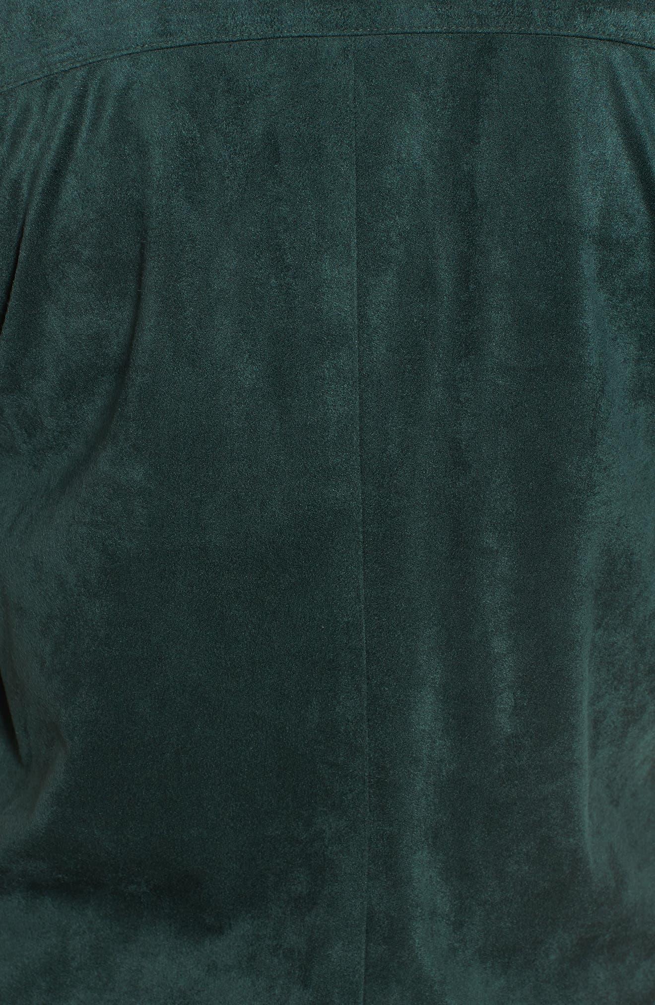 ,                             Nicholson Faux Suede Drape Front Jacket,                             Alternate thumbnail 44, color,                             301