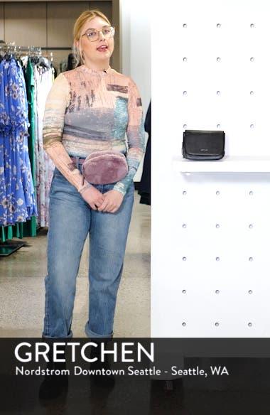 Park Faux Leather Belt Bag, sales video thumbnail