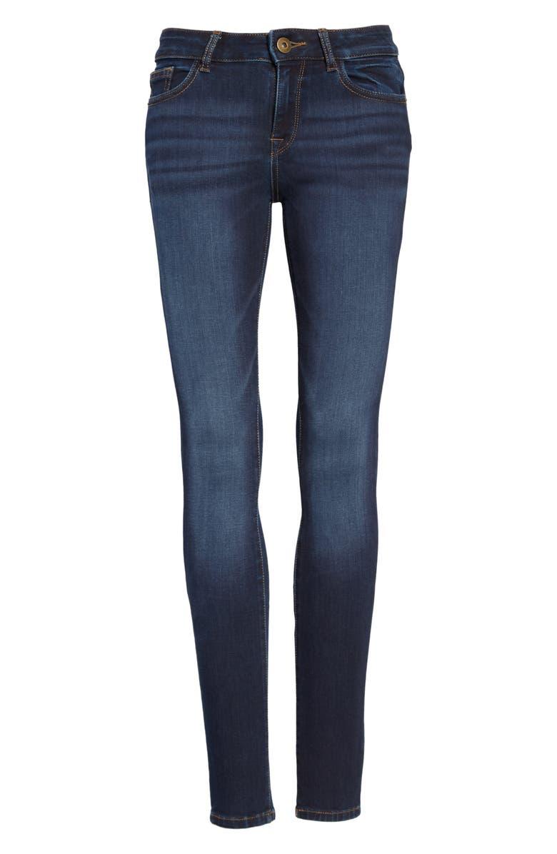 DL1961 'Florence' Instasculpt Skinny Jeans, Main, color, 400
