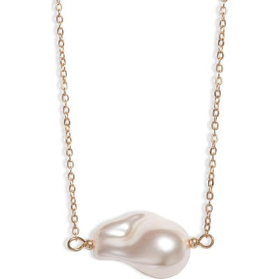 8 Other Reasons St. Barts Imitation Pearl Necklace