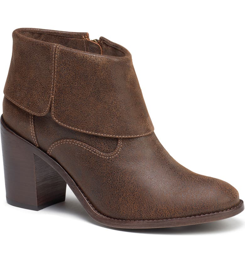 TRASK Teri Bootie, Main, color, BROWN SUEDE