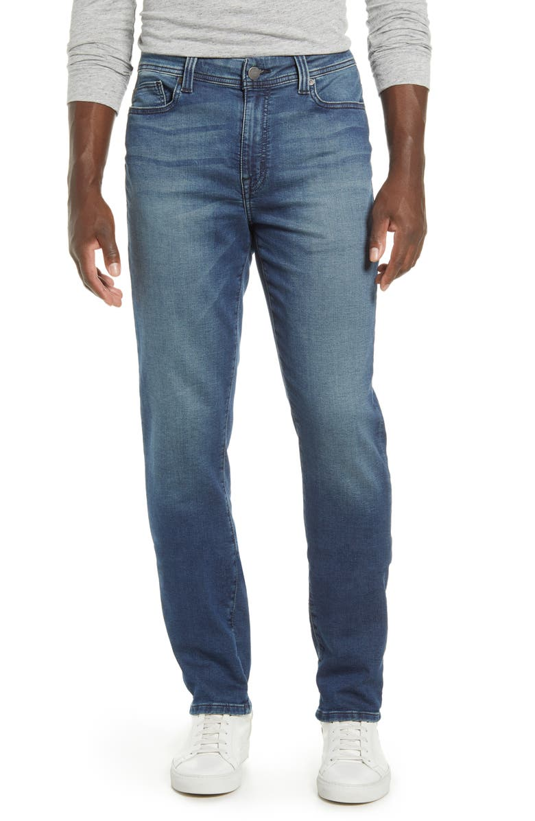FIDELITY DENIM Jimmy Slim Straight Leg Jeans, Main, color, COMET