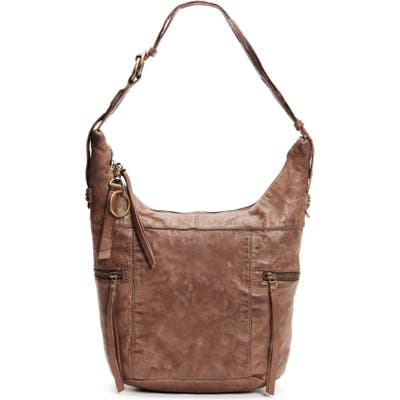 Frye And Co Jolie Leather Hobo - Brown