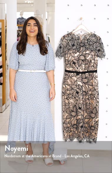 Souctach Lace Midi Dress, sales video thumbnail