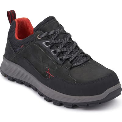 Allrounder By Mephisto United Tex Water Repellent Sneaker- Black