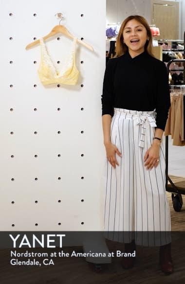 'Embrace Lace' Deep-V Bralette, sales video thumbnail