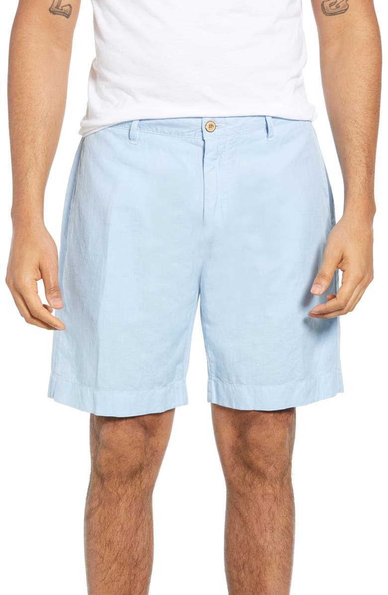 FAHERTY Malibu Shorts, Main, color, LIGHT BLUE