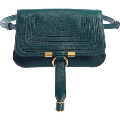 Chloe Marcie Convertible Belt Bag - Green