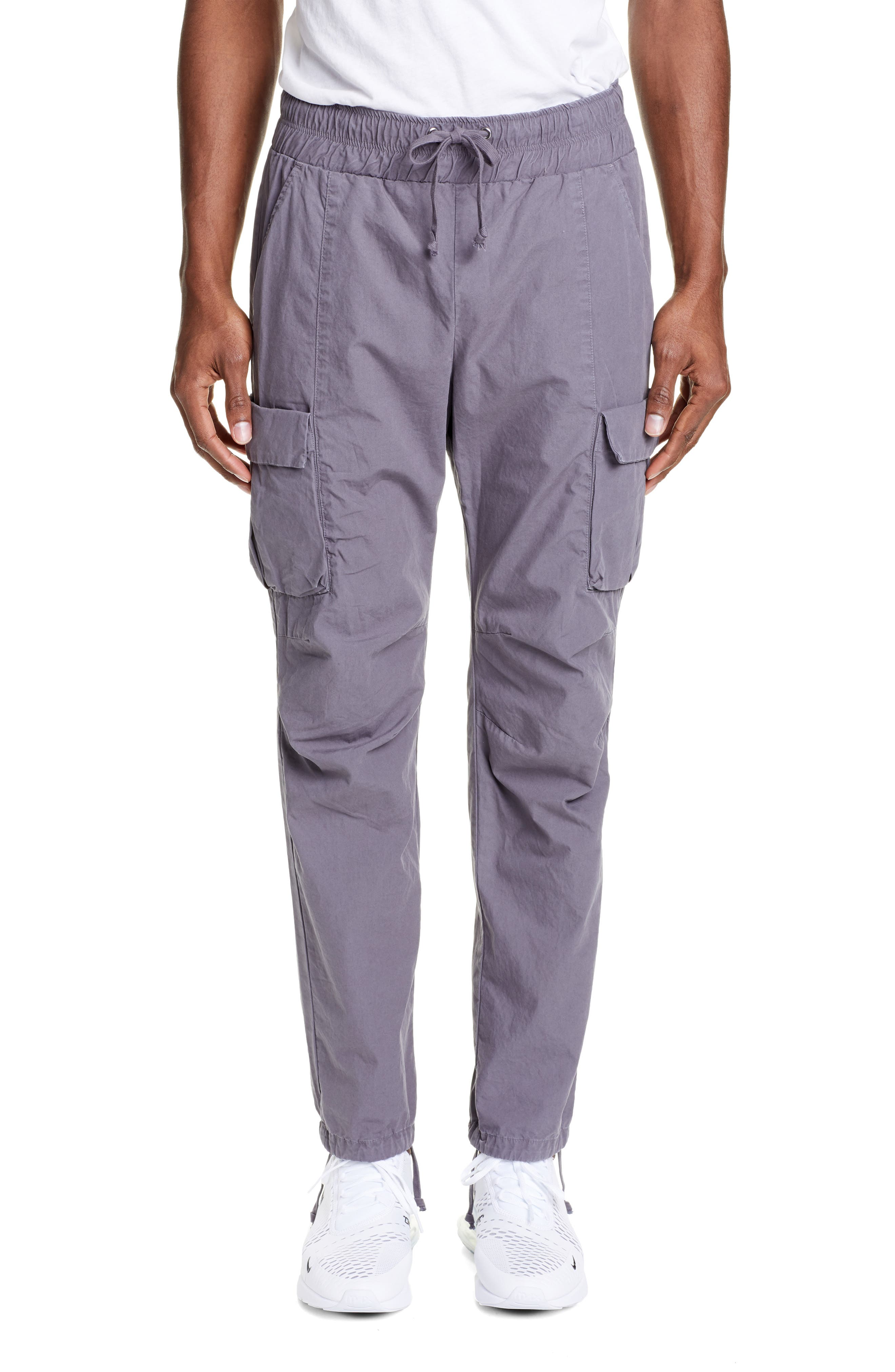 John Elliott Military Cargo Pants, Grey
