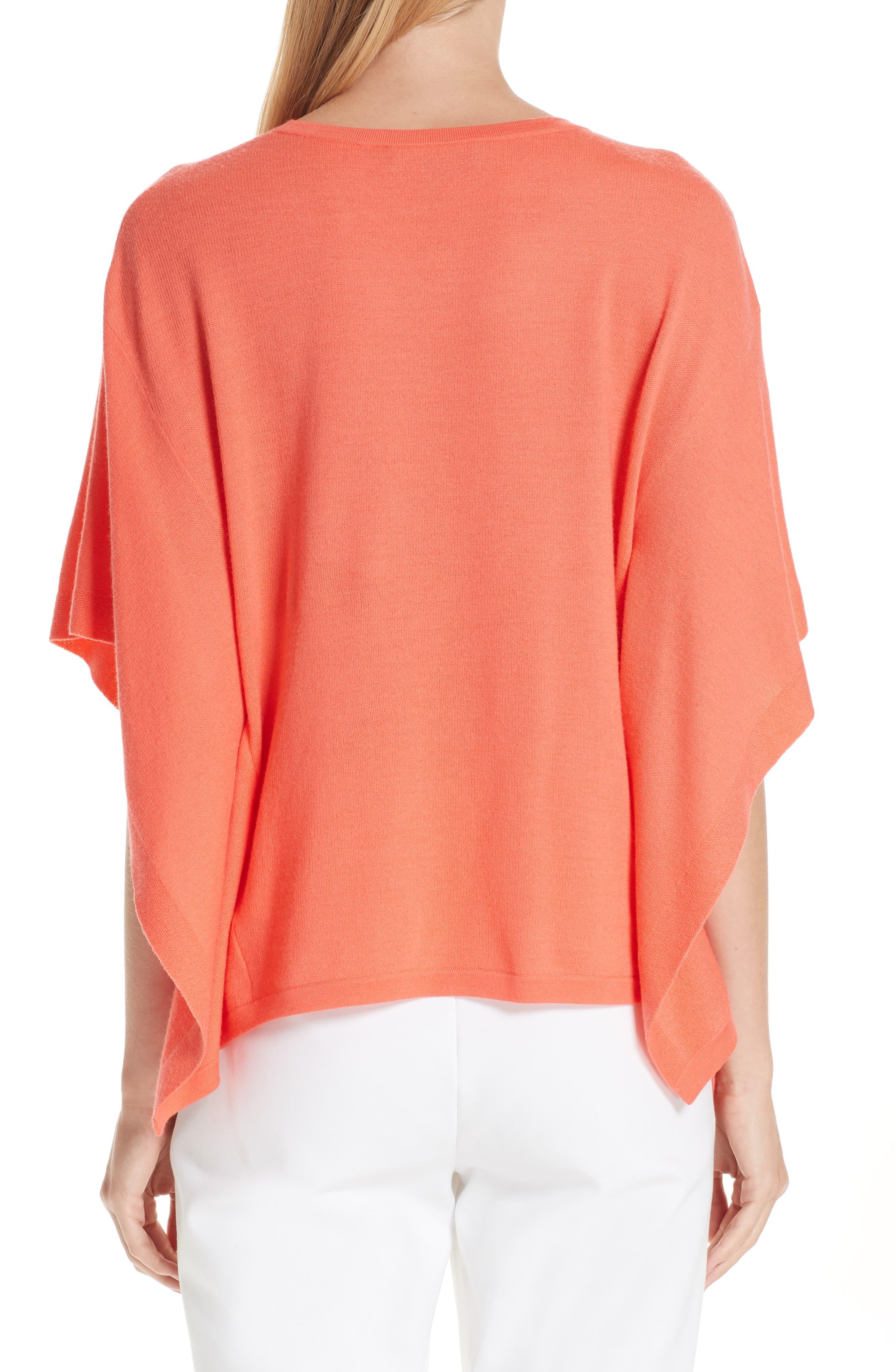 ,                             Float Jacquard Merino Wool Butterfly Sweater,                             Alternate thumbnail 2, color,                             BLOSSOM