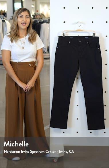 Clifton Slim Brushed Twill Slim Straight Leg Five-Pocket Pants, sales video thumbnail