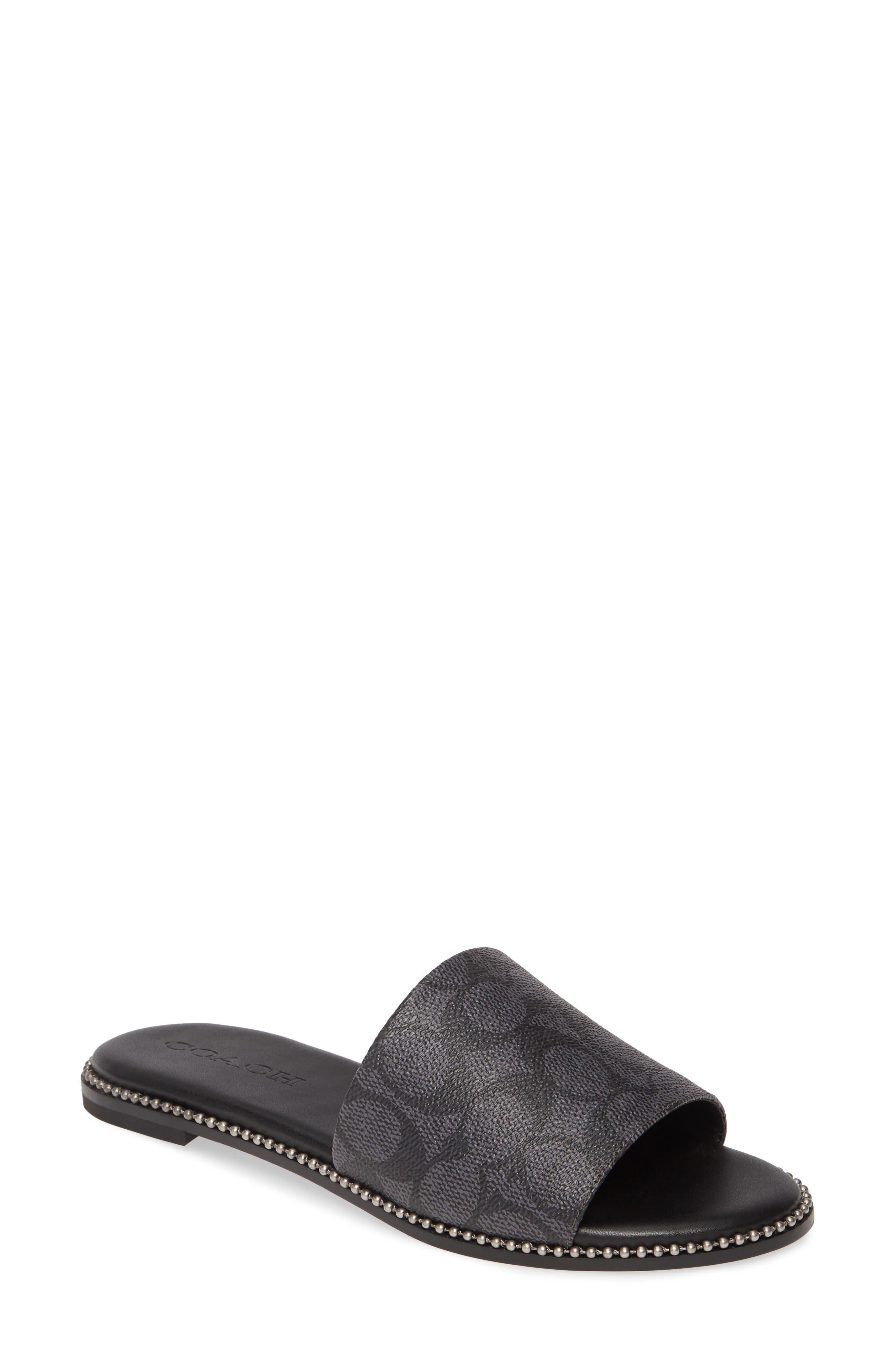COACH Harper Slide Sandal (Women