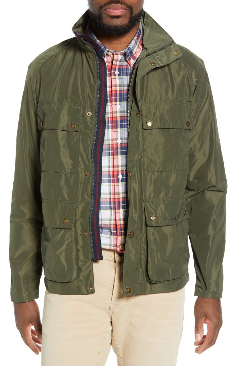 BARBOUR Inchkeith Tailored Fit Jacket, Main, color, 340