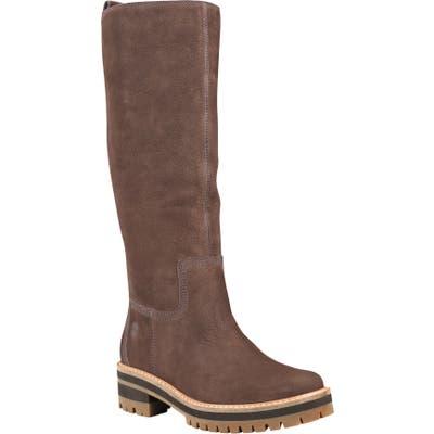 Timberland Courmayeur Valley Knee High Boot, Brown