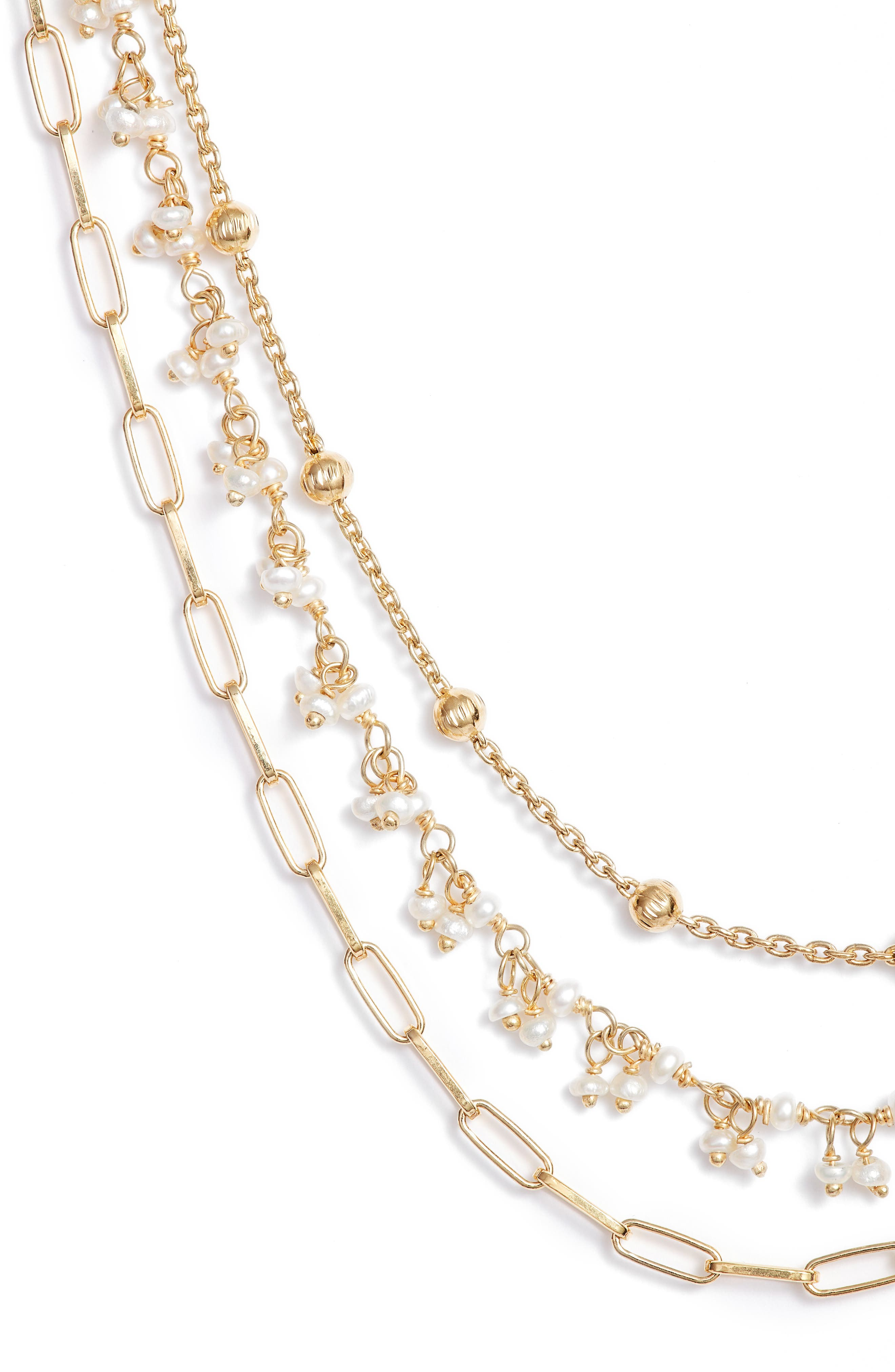 Multistrand Collar Necklace