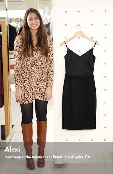 Teagun Mix Media Sheath Dress, sales video thumbnail