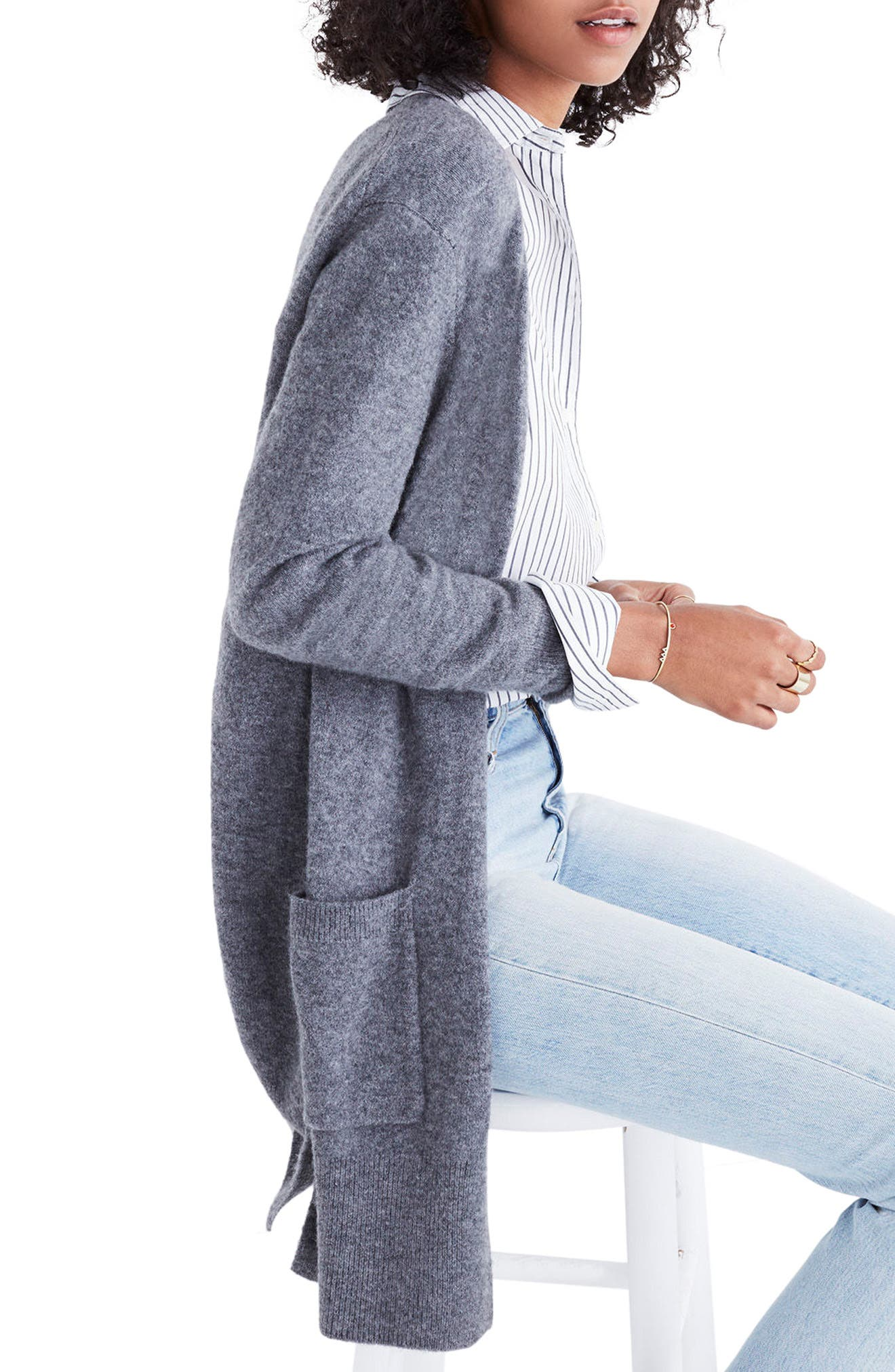,                             Kent Cardigan Sweater,                             Alternate thumbnail 22, color,                             020