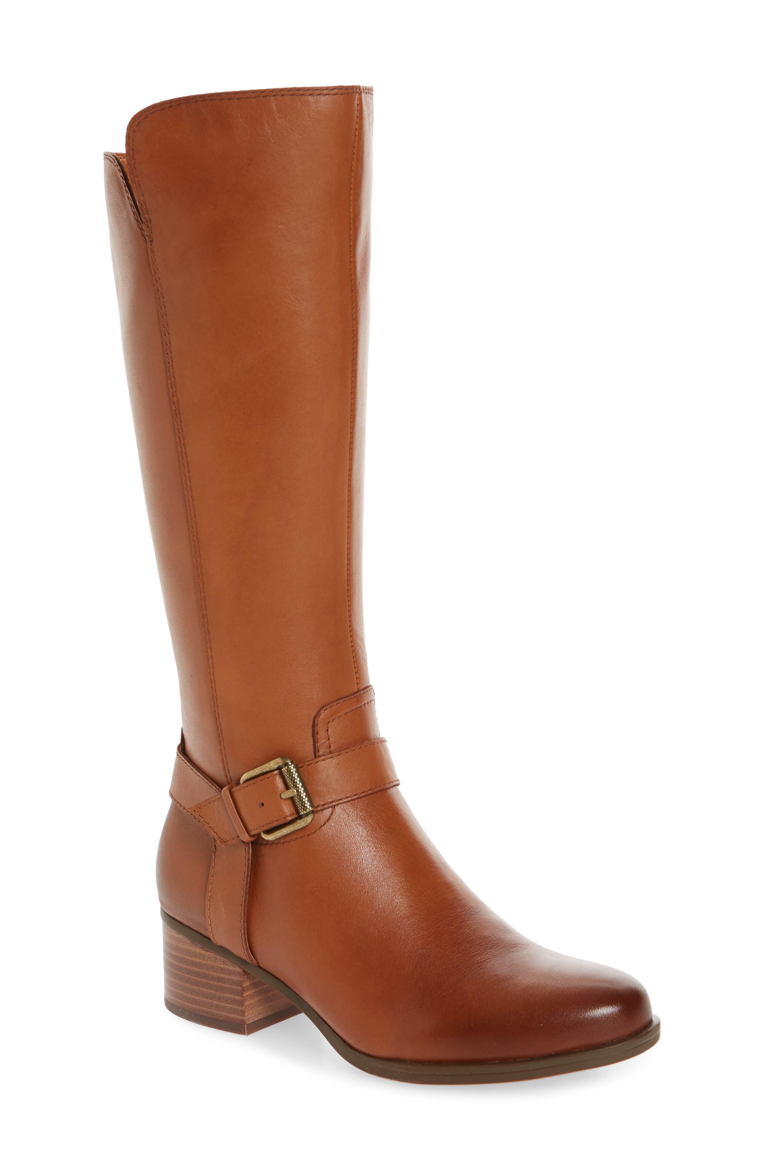 Naturalizer Dalton Tall Boot (Women) (Regular & Wide Calf)