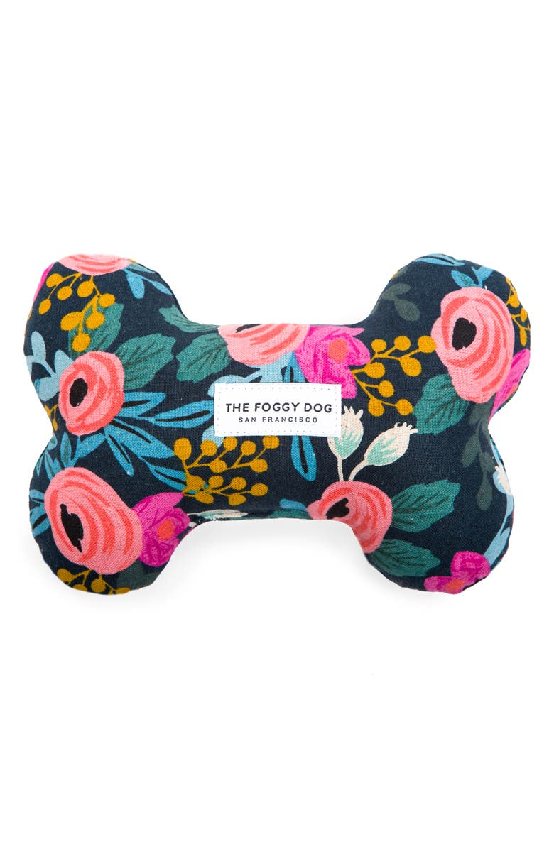 THE FOGGY DOG Rosa Squeaky Dog Toy, Main, color, 400