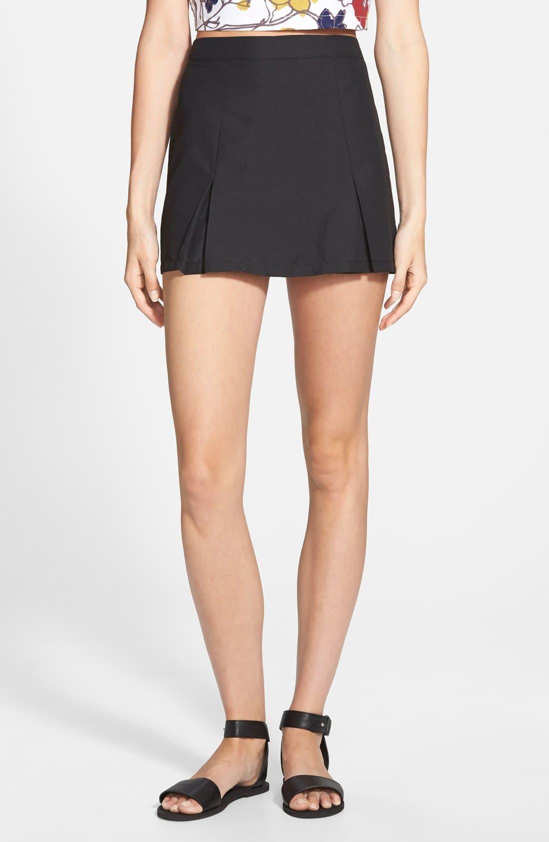 Floral Tennis Skirt, Main, color, 001