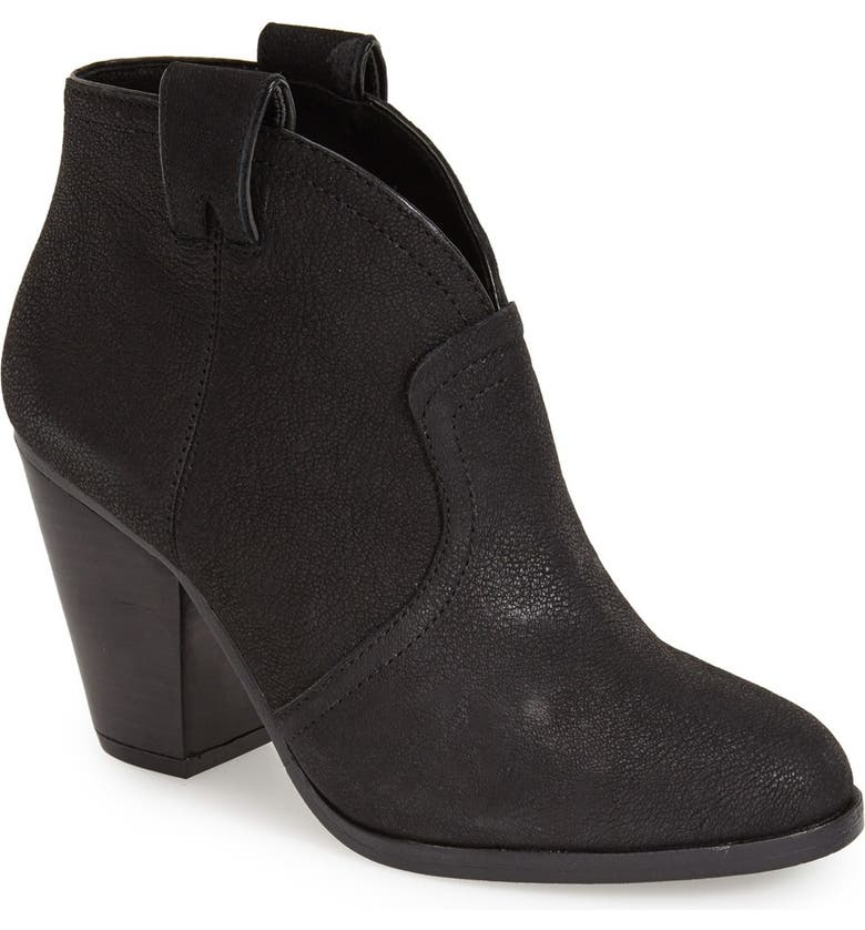VINCE CAMUTO 'Hillsy' Almond Toe Ankle Bootie, Main, color, 001