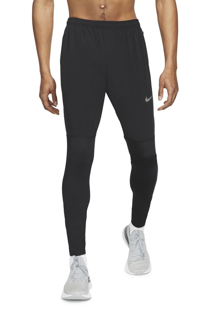 NIKE Dri-FIT Challenger Performance Running Pants, Main, color, BLACK/ REFLECTIVE SILVER