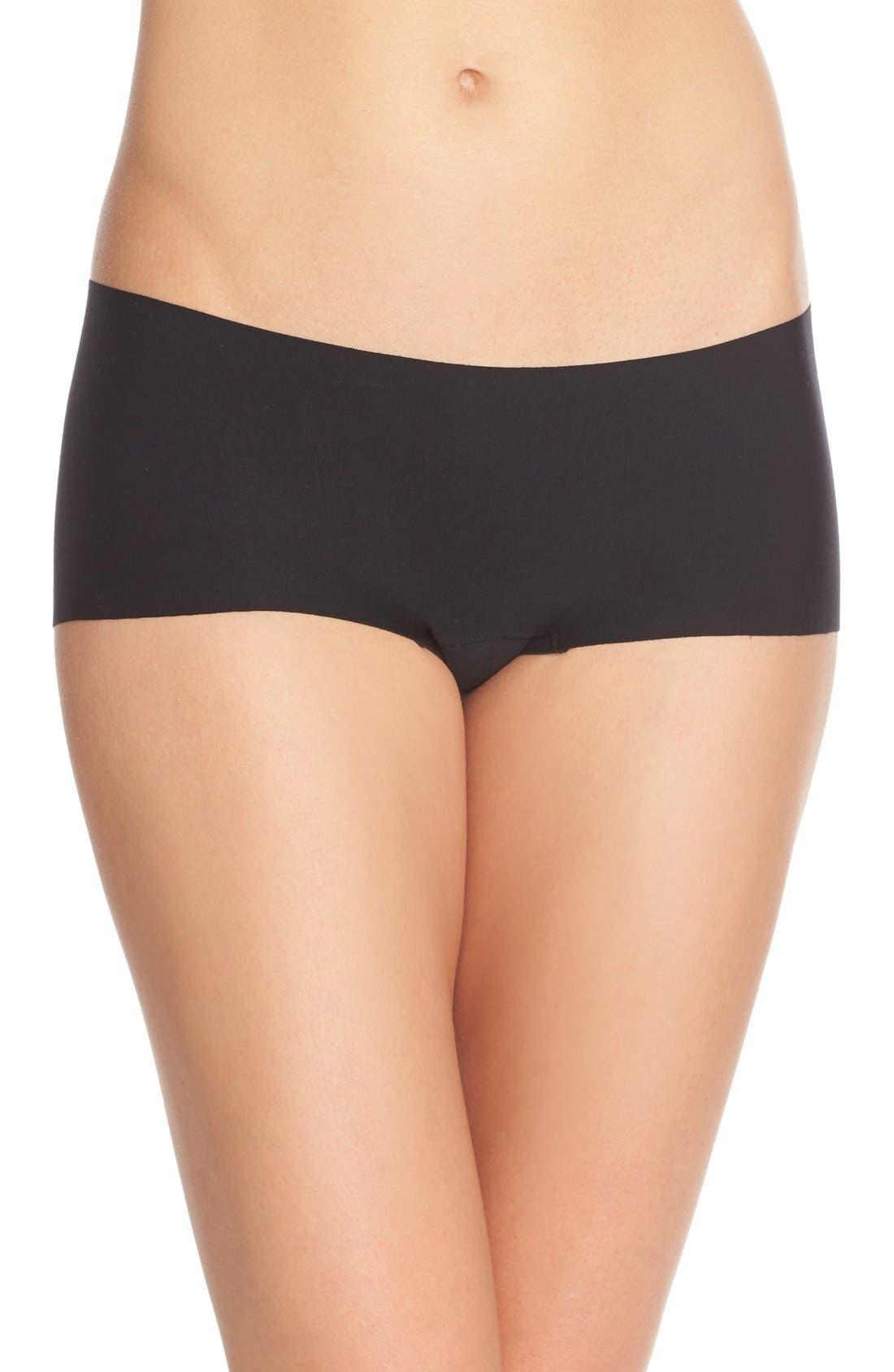 Women's Commando Butter Seamless Hipster Panties,  X-Large - Black