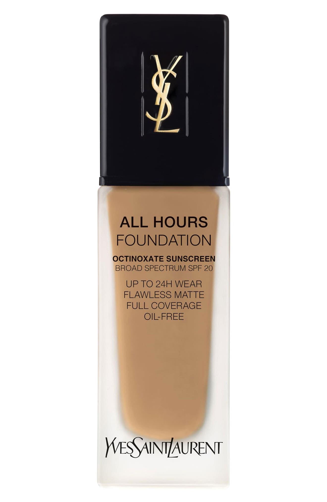 Yves Saint Laurent All Hours Full Coverage Matte Foundation Spf 20 - B65 Bronze