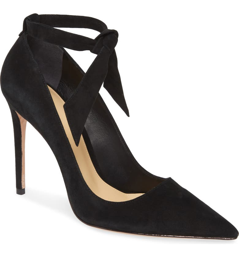 ALEXANDRE BIRMAN New Clarita Ankle Strap Pump, Main, color, BLACK