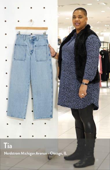 Costa High Waist Crop Wide Leg Jeans, sales video thumbnail