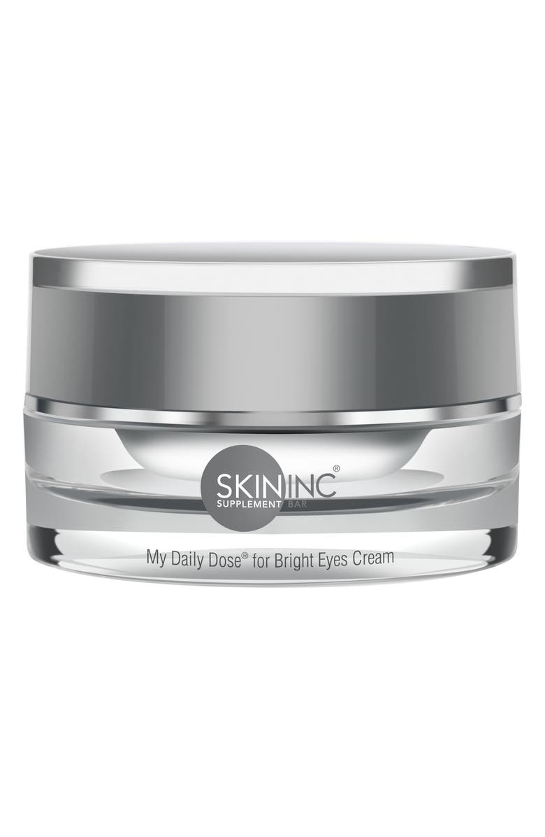 SKIN INC. My Daily Dose for Bright Eyes Cream, Main, color, NO COLOR