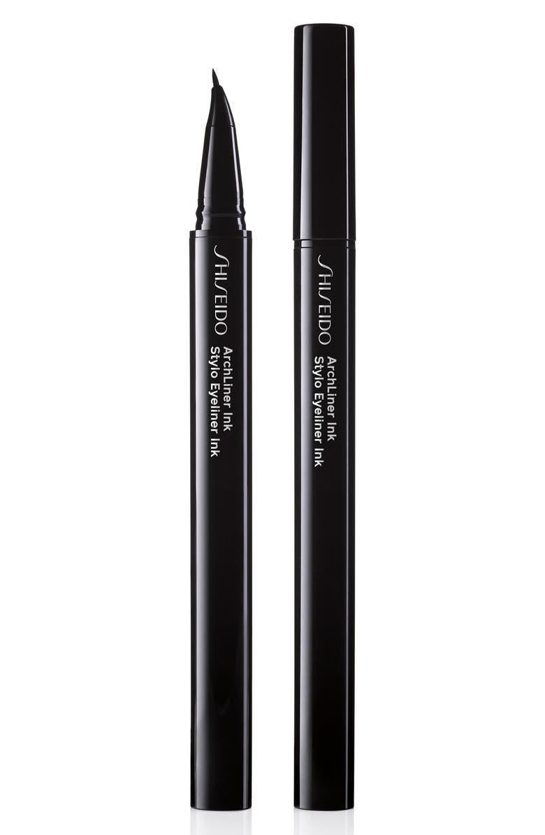 SHISEIDO Archliner Ink Eyeliner, Main, color, 001