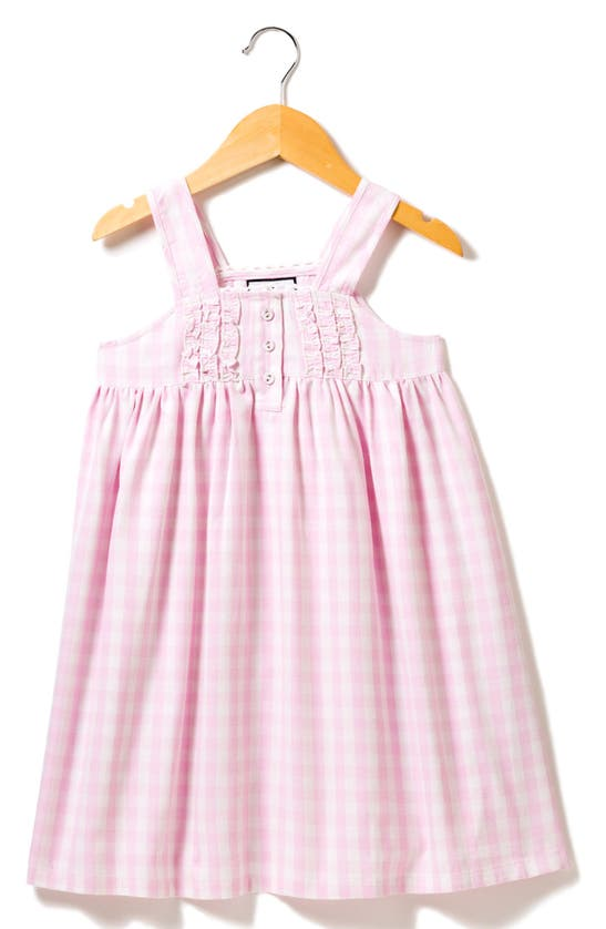 Petite Plume Nightgowns KIDS' GINGHAM NIGHTGOWN