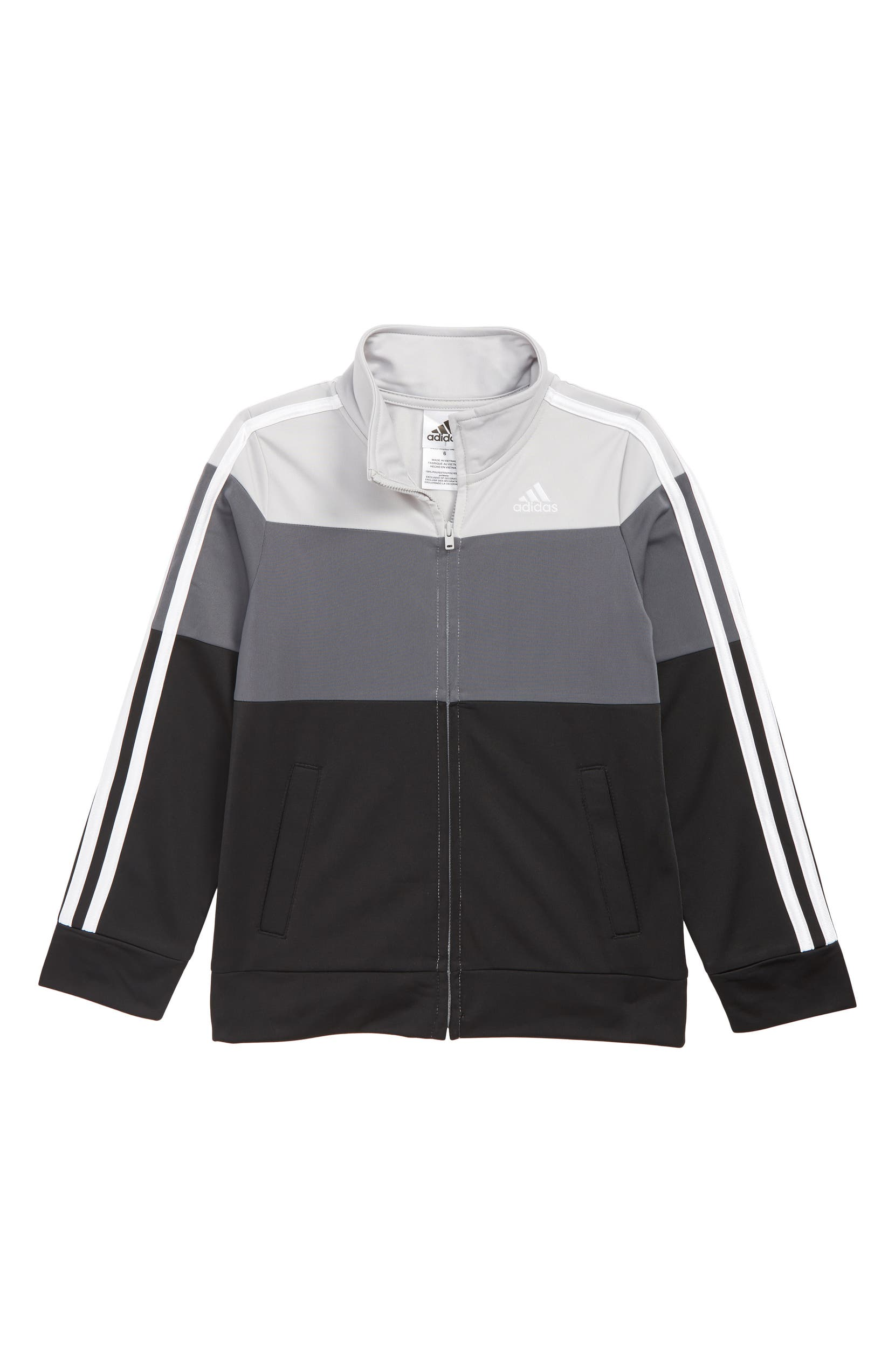 1c389688a adidas Colorblock Tricot Track Jacket (Toddler Boys & Little Boys)    Nordstrom