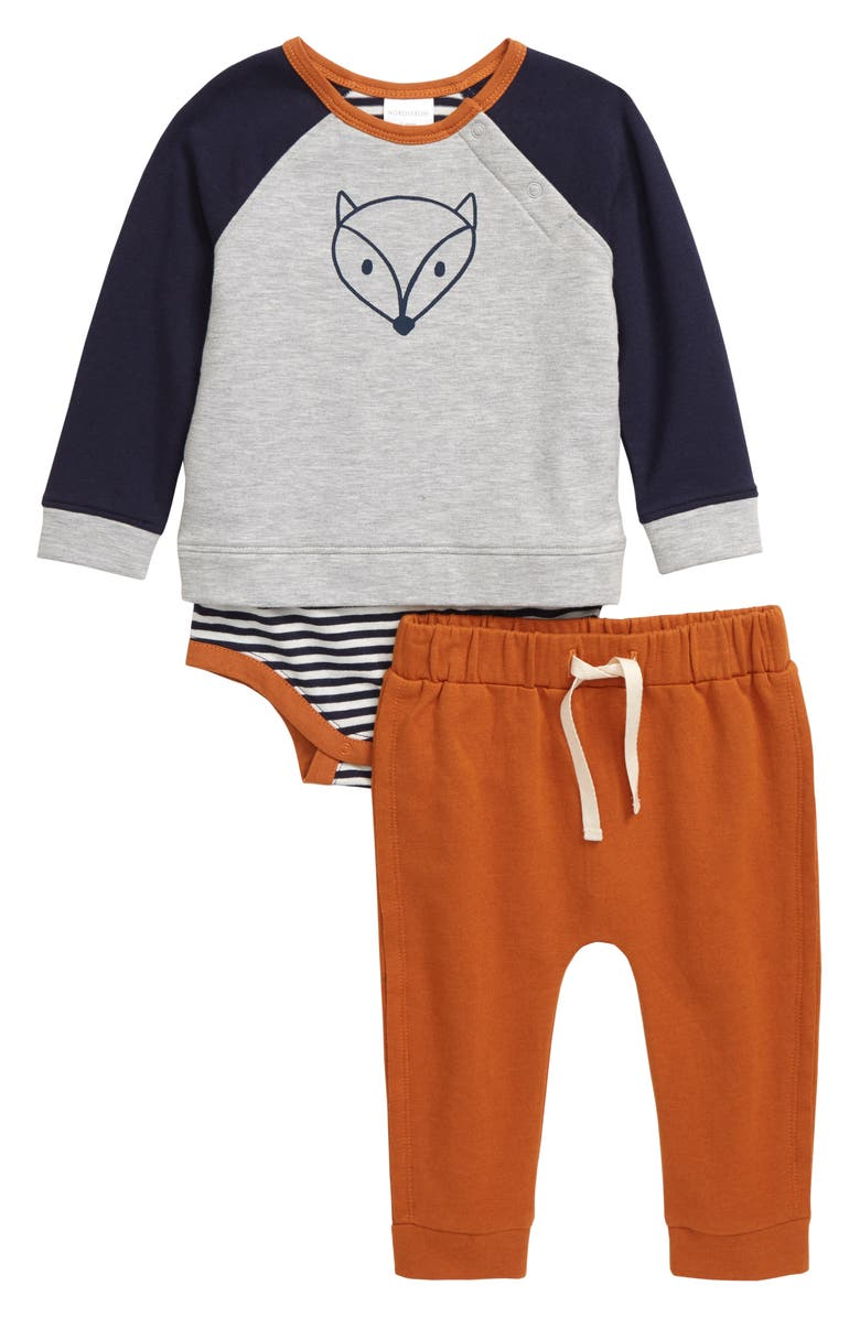 Sweatshirt Bodysuit & Sweatpants Set by Nordstrom Baby