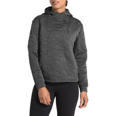 The North Face Get Out There Hooded Jacquard Pullover, Grey